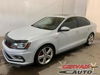Used 2017 Volkswagen Jetta GLI Autobahn GPS Fender Cuir Toit Ouvrant Mags *Condition Exceptionnelle* for sale in Trois-Rivières, QC