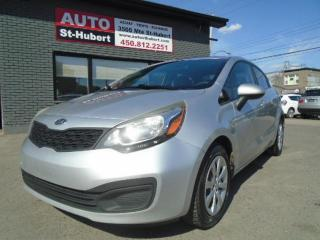 Used 2012 Kia Rio LX for sale in St-Hubert, QC