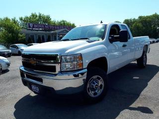 Used 2013 Chevrolet Silverado 2500 HD WT for sale in Oshawa, ON
