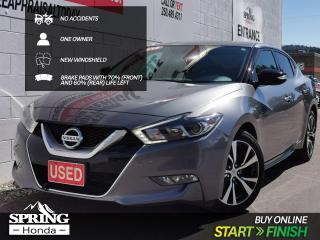Used 2016 Nissan Maxima SV NO ACCIDENTS, ONE OWNER, NEW WINDSHIELD, LOWER THAN AVERAGE MILEAGE for sale in Cranbrook, BC