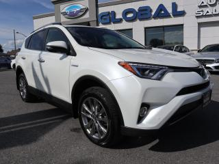 Used 2017 Toyota RAV4 Hybrid Limited for sale in Ottawa, ON