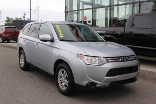 Used 2014 Mitsubishi Outlander ES AWC MAIN LIBRE*SIÈGES CHAUFFANT*ROUES for sale in Lévis, QC