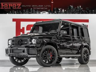 Used 2017 Mercedes-Benz G63 AMG ***SOLD** CALL TO ORDER $100,000 BRABUS KIT|AKRAPOVIC VALVETRONIC EXHAUST|ONLY ONE for sale in North York, ON