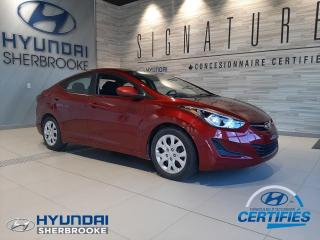 Used 2015 Hyundai Elantra GL+DEMARREUR+BANCS CHAUFF+BLUETOOTH for sale in Sherbrooke, QC