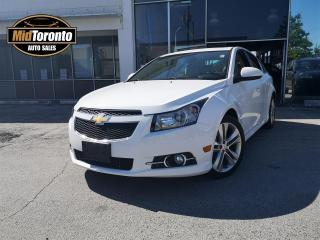 Used 2013 Chevrolet Cruze 2LT | RS | Leather | Roof | No Accidents | Sport Package | Excellent Condition for sale in North York, ON