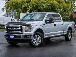 Used 2016 Ford F-150 4x4 - Supercrew XLT - 157 WB for sale in Burlington, ON