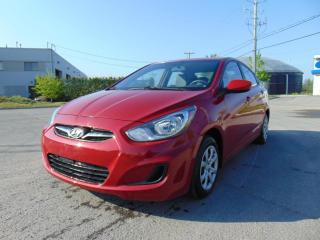 Used 2012 Hyundai Accent ******AUTOMATIQUE**********A/C******* for sale in St-Eustache, QC