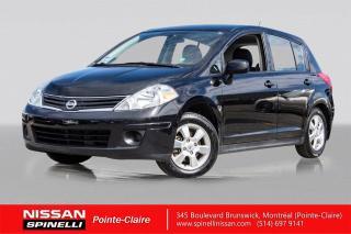 Used 2012 Nissan Versa SL NAVIGATION NAVIGATION / DÉMARREUR A DISTANCE / A/C for sale in Montréal, QC
