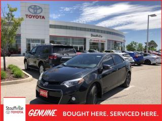 Used 2015 Toyota Corolla Technology Package - NO ACCIDENTS - POWER MOONROOF for sale in Stouffville, ON