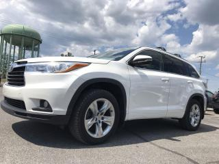 Used 2015 Toyota Highlander Limited LIMITED for sale in Stittsville, ON