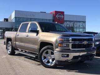 Used 2014 Chevrolet Silverado 1500 LEATHER, NAVIGATION, REMOTE START for sale in Midland, ON