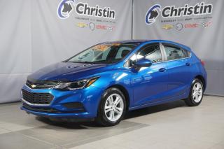 Used 2018 Chevrolet Cruze LT 5 PORTES HAYON SIEGE CHAUFFANT BLUETOOTH for sale in Montréal, QC