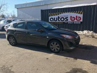 Used 2010 Mazda MAZDA3 HATCHBACK - MANUELLE for sale in Laval, QC