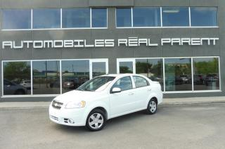 Used 2011 Chevrolet Aveo 42 795 KM - AUTOMATIQUE - AC- TOIT  - for sale in Québec, QC
