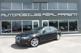 Used 2017 Audi A4 QUATTRO - KOMFORT - TOIT - 80 089 KM - for sale in Québec, QC