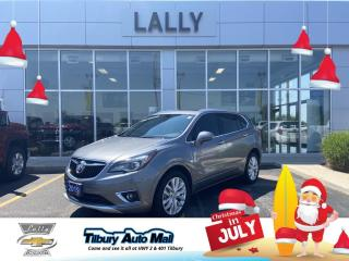 Used 2019 Buick Envision Premium I Leather, Moonroof, Back up Camera, Heated seats, for sale in Tilbury, ON