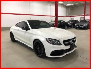 Used 2017 Mercedes-Benz C-Class C63 S AMG NIGHT PREMIUM PERFORMANCE SEATS CARBON INT! for sale in Vaughan, ON