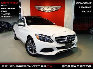 Used 2017 Mercedes-Benz C-Class C300 4MATIC | CERTIFIED | PREMIUM | FINANCE @ 4.65% for sale in Oakville, ON