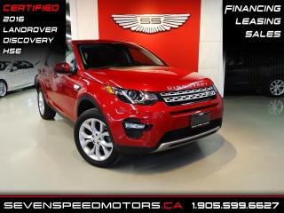 Used 2016 Land Rover Discovery Sport HSE | CERTIFIED | NAVI | OFF LEASE | FINANCE @4.65% for sale in Oakville, ON