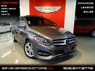 Used 2015 Mercedes-Benz B-Class SPORT TOURER 4MATIC | CERTIFIED | NAVI | FINANCE @ 4.65% for sale in Oakville, ON