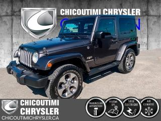 Used 2016 Jeep Wrangler 4 RM 2 portes Sahara for sale in Chicoutimi, QC