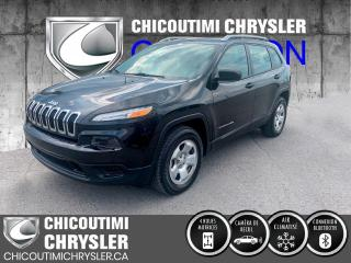 Used 2016 Jeep Cherokee 4 RM, 4 portes, Sport for sale in Chicoutimi, QC