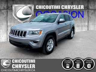 Used 2015 Jeep Grand Cherokee 4 RM 4 portes Laredo for sale in Chicoutimi, QC