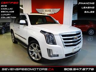 Used 2016 Cadillac Escalade LUXURY COLLECTION | HUD | CERTIFIED |  FINANCE @ 4.65% for sale in Oakville, ON