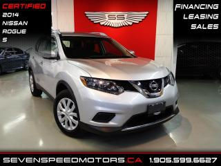 Used 2014 Nissan Rogue ROGUE S BACK-UP CAM   CERTIFIED   FINANCE @ 4.65% for sale in Oakville, ON