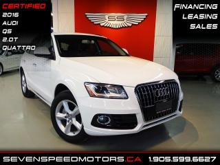 Used 2016 Audi Q5 2.0T QUATTRO | CERTIFIED | FINANCE @ 4.65% for sale in Oakville, ON