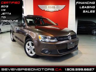 Used 2013 Volkswagen Jetta Sedan TDI TRENDLINE | CERTIFIED | FINANCE @ 4.65% for sale in Oakville, ON