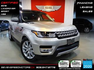Used 2016 Land Rover Range Rover Sport SPORT HSE TD6| ACCIDENT FREE | CERTIFIED | FINANCE @4.65% for sale in Oakville, ON