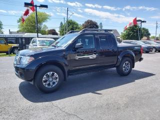 Used 2017 Nissan Frontier Pro-4X for sale in Cornwall, ON