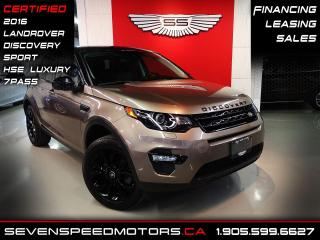 Used 2016 Land Rover Discovery Sport 7PASS LUXURY| CERTIFIED | NAVI | OFF LEASE | FINANCE @4.65% for sale in Oakville, ON