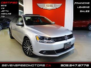 Used 2013 Volkswagen Jetta Sedan TDI HIGHLINE | 6SPD | CERTIFIED | FINANCE @ 4.65% for sale in Oakville, ON