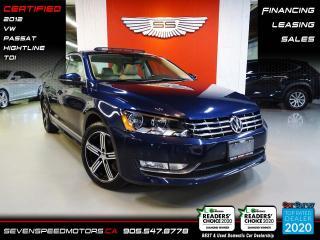 Used 2012 Volkswagen Passat TDI HIGHLINE | SCREEN | CERTIFIED | FINANCE @ 4.65% for sale in Oakville, ON