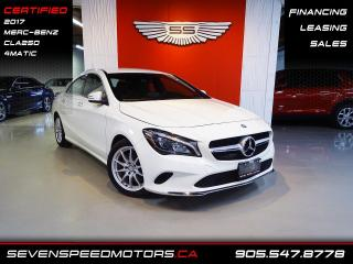 Used 2017 Mercedes-Benz CLA-Class CLA250 4MATIC   CERTIFIED   MB WARRANTY   FINANCE @ 4.65% for sale in Oakville, ON