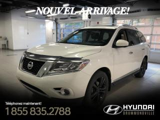 Used 2014 Nissan Pathfinder PLATINUM + GARANTIE + NAVI + TOIT + CUIR for sale in Drummondville, QC