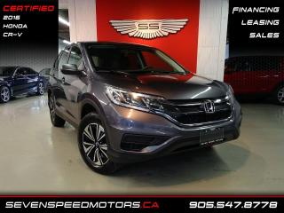 Used 2016 Honda CR-V LX | 2 SETS OF TIRES | CERTIFIED | FINANCE @4.65% for sale in Oakville, ON