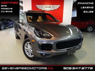 Used 2016 Porsche Cayenne OFF LEASE | CERTIFIED | NAVI | REV CAM | FINANCE @ 4.65% for sale in Oakville, ON