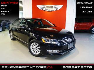 Used 2013 Volkswagen Passat TDI 76KMS ONLY | VW WARRANTY | FINANCE @ 4.65% for sale in Oakville, ON