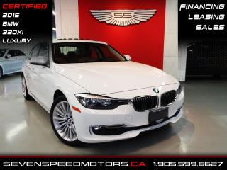 Used 2015 BMW 3 Series 320XI | NAVI | OFF LEASE | CERTIFIED | FINANCE @ 4.65% for sale in Oakville, ON