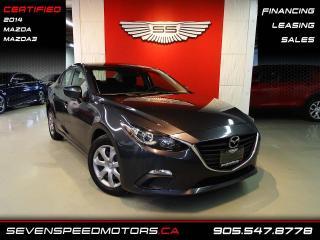 Used 2014 Mazda MAZDA3 MAZDA 3 GX SKY | CERTIFIED | FINANCE @ 4.65% for sale in Oakville, ON