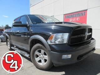 Used 2011 RAM 1500 CREW OUTDOORSMAN 5.7L HEMI MAG CRUISE AIR for sale in St-Jérôme, QC