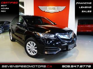 Used 2017 Acura RDX ACCIDENT FREE | CERTIFIED | ACURA WARRANTY | FINANCE @ 4.65% for sale in Oakville, ON