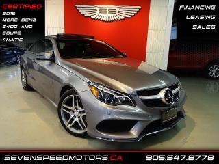 Used 2016 Mercedes-Benz E-Class E400 4MATIC | CERTIFIED | COUPE | AMG | FINANCE @ 4.65% for sale in Oakville, ON