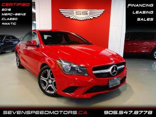 Used 2016 Mercedes-Benz CLA-Class CLA250 4MATIC   CERTIFIED   ACCIDENT FREE   FINANCE @ 4.65% for sale in Oakville, ON