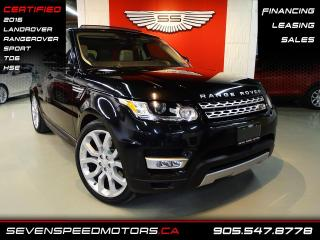 Used 2016 Land Rover Range Rover Sport TD6 HSE SPORT | CERTIFIED | FINANCE @4.65% for sale in Oakville, ON