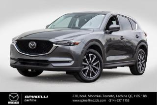 Used 2017 Mazda CX-5 GT TECH AWD CUIR TOIT OUVRANT SYSTEME AUDIO BOSE Mazda CX-5 GT Tech 2017 for sale in Lachine, QC