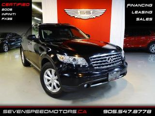 Used 2006 Infiniti FX35 ACCIDENT FREE | CERTIFIED | NAVI | REV CAM for sale in Oakville, ON